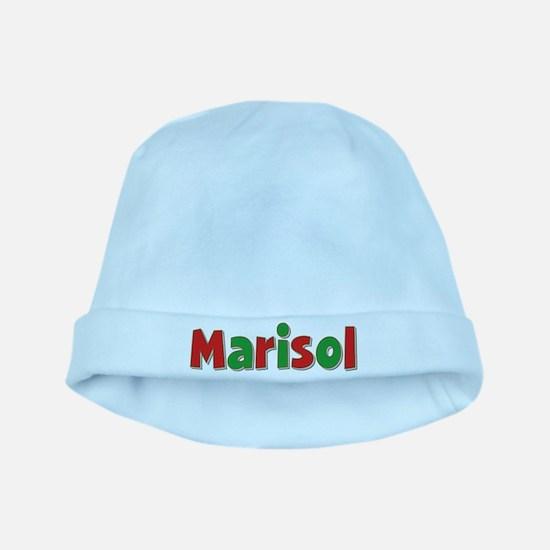 Marisol Christmas baby hat