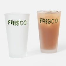Frisco, Vintage Camo, Drinking Glass