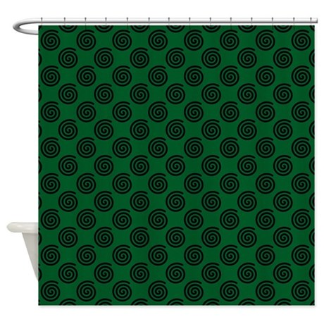 Spiral Shower Curtain By 0812edmab