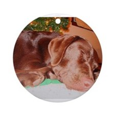Funny Patchwork Ornament (Round)