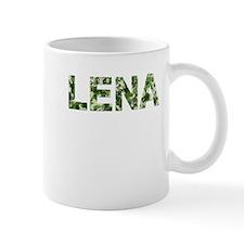 Lena, Vintage Camo, Mug
