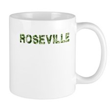 Roseville, Vintage Camo, Mug