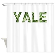 Yale, Vintage Camo, Shower Curtain