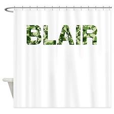 Blair, Vintage Camo, Shower Curtain
