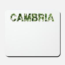 Cambria, Vintage Camo, Mousepad