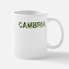 Cambria, Vintage Camo, Mug