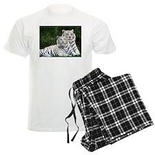 White Tigers Pajamas