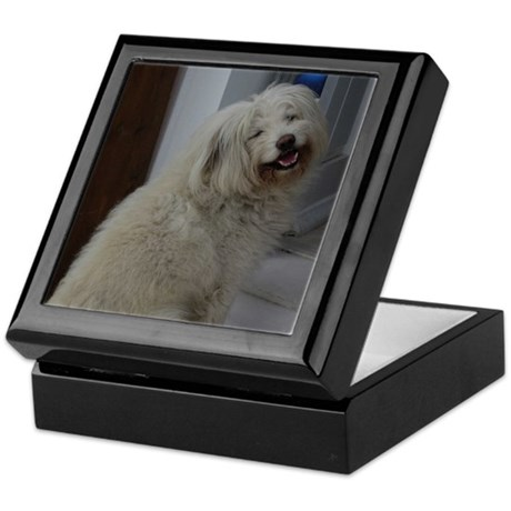 Dapper Dog Keepsake Box