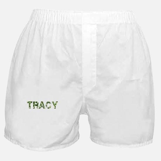 Tracy, Vintage Camo, Boxer Shorts
