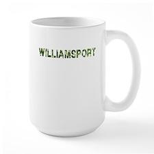 Williamsport, Vintage Camo, Mug