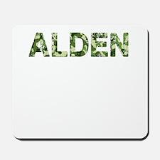 Alden, Vintage Camo, Mousepad