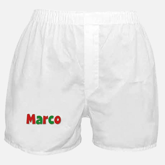 Marco Christmas Boxer Shorts