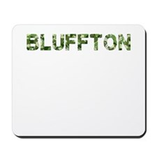 Bluffton, Vintage Camo, Mousepad