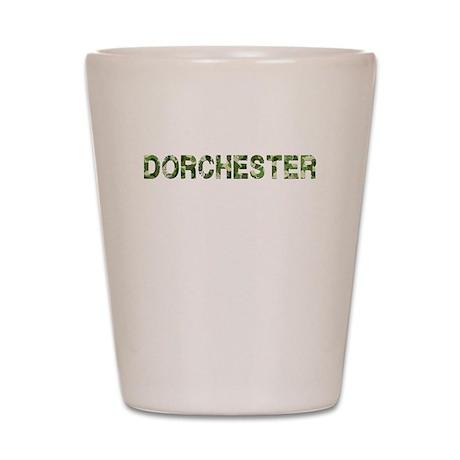 Dorchester, Vintage Camo, Shot Glass