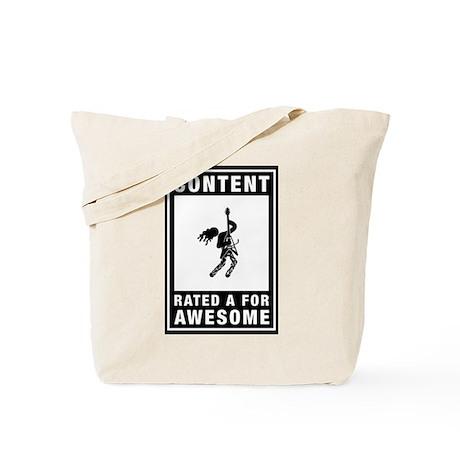Eighties Rocker Tote Bag