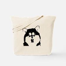 Dignified Alaskan malamute Tote Bag