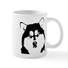 Dignified Alaskan malamute Small Mug