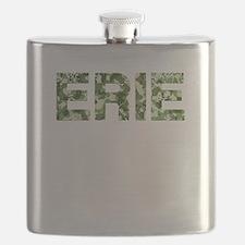 Erie, Vintage Camo, Flask