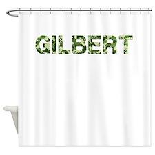 Gilbert, Vintage Camo, Shower Curtain