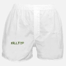 Hilltop, Vintage Camo, Boxer Shorts
