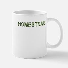 Homestead, Vintage Camo, Mug
