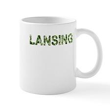 Lansing, Vintage Camo, Mug