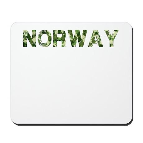 Norway, Vintage Camo, Mousepad