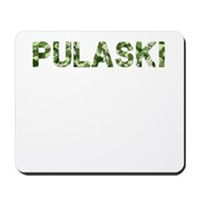 Pulaski, Vintage Camo, Mousepad