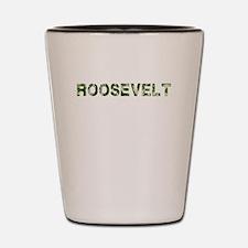 Roosevelt, Vintage Camo, Shot Glass