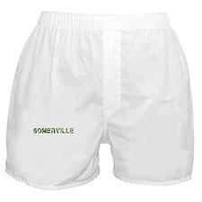 Somerville, Vintage Camo, Boxer Shorts
