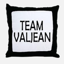 Team Valjean Throw Pillow