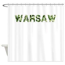 Warsaw, Vintage Camo, Shower Curtain