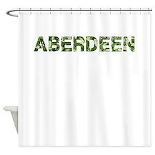 Aberdeen, Vintage Camo, Shower Curtain