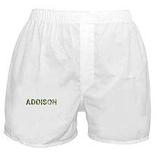 Addison, Vintage Camo, Boxer Shorts