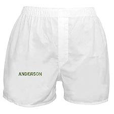 Anderson, Vintage Camo, Boxer Shorts