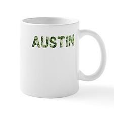 Austin, Vintage Camo, Mug