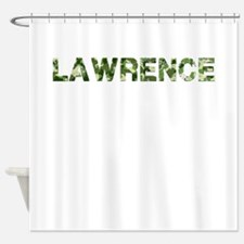 Lawrence, Vintage Camo, Shower Curtain