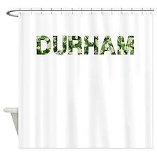 Durham, Vintage Camo, Shower Curtain