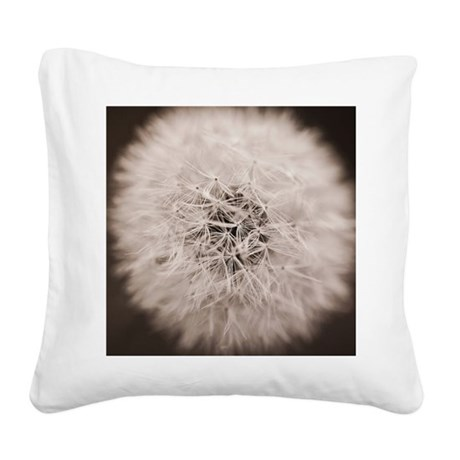 Make a wish. Square Canvas Pillow