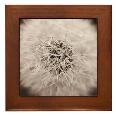 Make a wish. Framed Tile