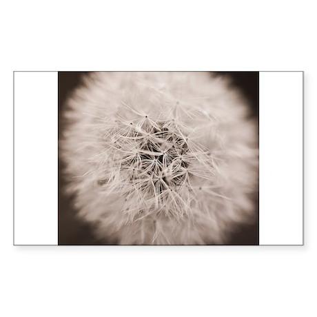 Make a wish. Sticker (Rectangle)