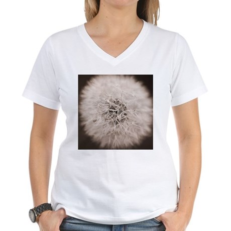 Make a wish. Women's V-Neck T-Shirt