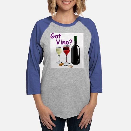 GOTVINO.jpg Womens Baseball Tee