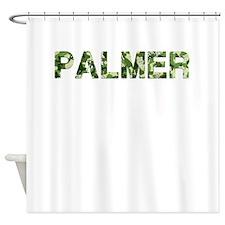 Palmer, Vintage Camo, Shower Curtain