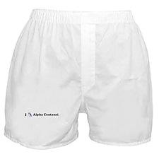 I Stargaze Alpha Centauri Boxer Shorts