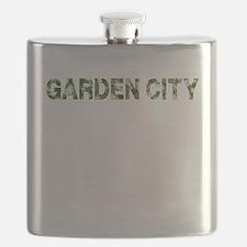 Garden City, Vintage Camo, Flask