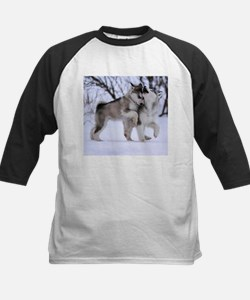 Wolves Playing Tee