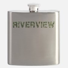 Riverview, Vintage Camo, Flask
