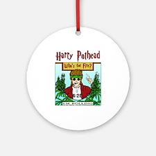 Harry Pothead Ornament (Round)