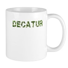 Decatur, Vintage Camo, Mug